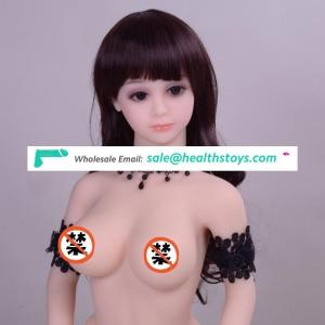 Factory Price 100CM Small Full Body Silicone Sex Doll With Big Boobs