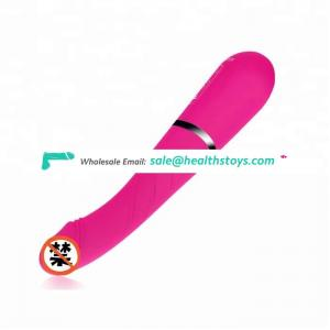 Factory Price Waterproof Expansion Thrusting Heating 100% Silicone Dildo Vibrator Adult Toys