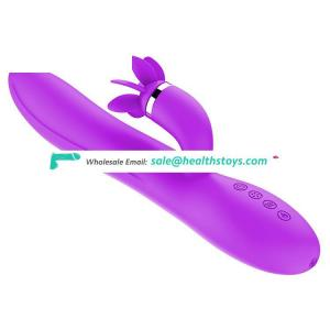 Factory Rotation tongue G-spot Massager Stick Vibrator Tools and Sex Toy for Sale in Egypt