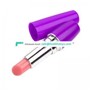 Female masturbator lipstick vibrator sex toys