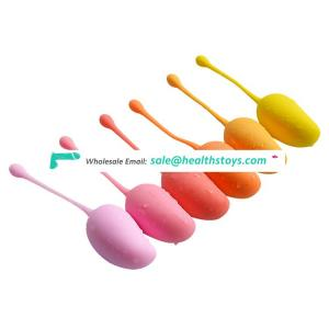 Female toy kegel exercise vaginal muscle tightening silicone balls