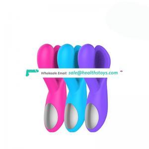 Girl play porn toys USB rechargable control G-spot l stimulator Vibrator sex toy