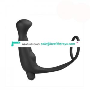 High Quality Anal Sex Toy 2 in 1 Vibrating Prostate Massage