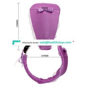 High quality sex toys women c-string strapless underwear vibrator