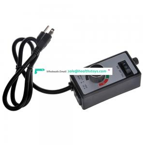 Hot selling Hydroponics Variable Router inline fan speed controller/motor speed controller with us plug