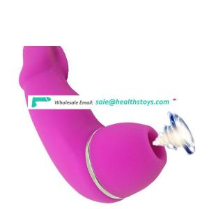 Made in China 20 frequency Vibrator sex toy rechargeable massager suction vibrator for women