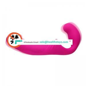 Manufacture Price Silicone Muti-speed Vibrate Couple Sex Toy Dildo Vibrator