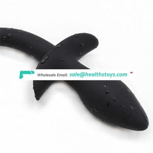 Medical Silicone Sex Toy Dog Tail Anal Plug