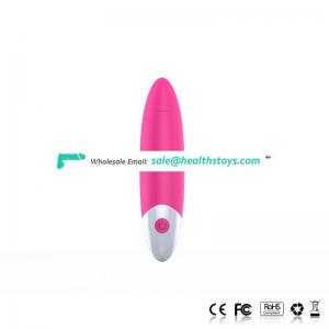 Medical grade silicone nipple stimulator, beautiful strong vibration mini bullet vibrator