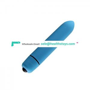 Multi Color Optional Replaceable Battery Bullet Vibrator for Woman