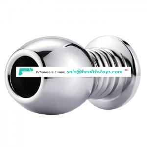 New Arrival Anal Toy Aluminium Alloy Hollow Butt Plug