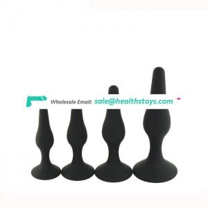 New Arrival Butt Plug Sex Toy with Suction Cups