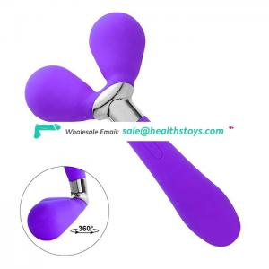 New Sex Toys 3 Heads Medical Silicone Vibrators Body Massages Sexy Toys For Old Women