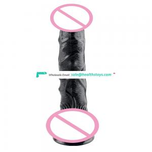 New arrival flexible soft skin dildo dual feeling dildo with strong suction cup and lifelike veins