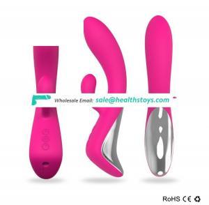 New design Triple motors sex toy rabbit vibrator Flexible G-Spot Rabbit Vibrator for woman