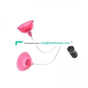 New design women sex toys rechargeable breast enlargement pump with 2 cups