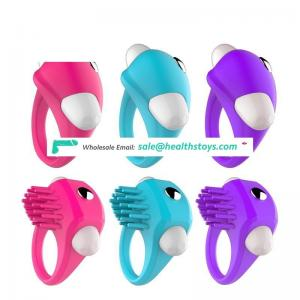 New products 2017 sex toys cock ring vibrator