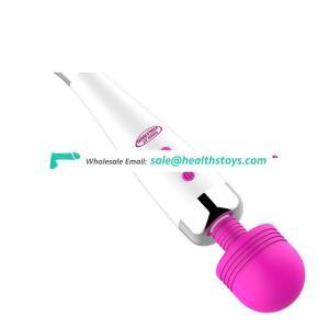 New products Waterproof Vagina AV G-Spot 12 Speed wand handy massage vibrator For Pussy