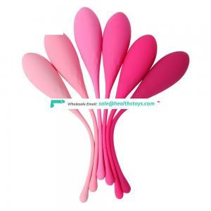 New vaginal dumbbell silicone vagina exercise koro balls for postpartum