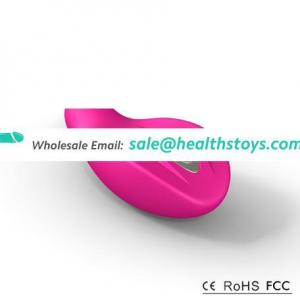 Rechargable Lithium Battery sextoy Vibrator soft silicone female vibrator