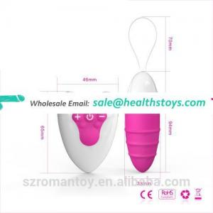 Remote Controlled Anal Vibrator Wireless Love Eggs Female Bullet Eggs