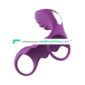 Sex toy pussy ring cock ring and butt plug for couples penis ring
