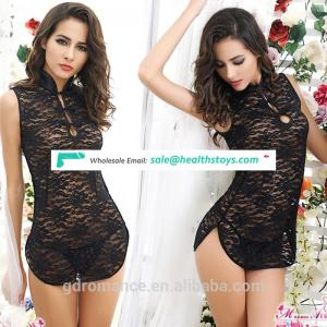Sexy Underwear Factory Direct Marketing Chinese Style Cheongsam Super Short Lingerie For Girl