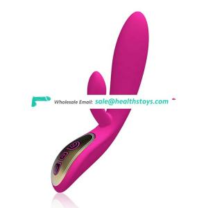 Shenzhen Wholesale Price Voice Control USB Rechargeable Silicone Waterpoof Hand-held Vibrators For Women Sex Toys