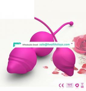 Shenzhen kegel balls factory supplier, Cheap wholesale kegel pelvic muscle trainer love ball sex toys for women