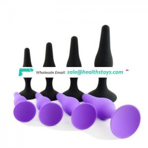 Silicone Erotic Toy Anal Butt Plug Anal Toys P-spot For Male &Female