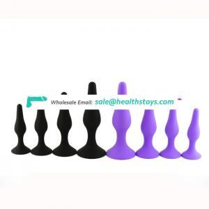 Skin Safe Grade Silicone Sex Toy Butt Plug
