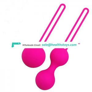 Skin Safe Grade Silicone Vibrating Kegel Exercise Ball