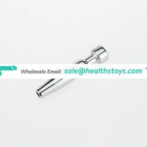 Stainless steel huge penis plug urethral dilator stick clitoris massager sex toys for men