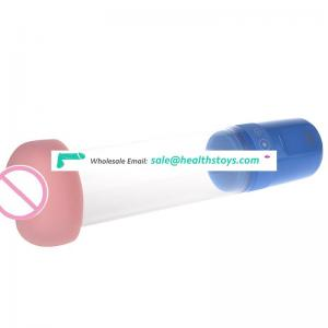 Strong power pump penis with attractive function penis enlargement pump for men