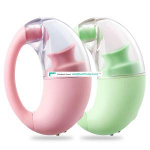 Tongue Vibrator Nipple Sucker Massager Clitoris Stimulate For Women
