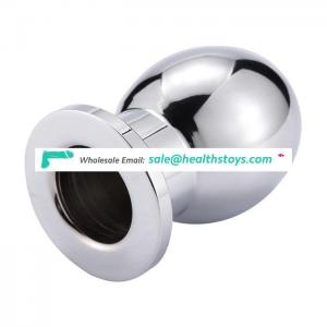 Trendy Gift for Gay P Spot Orgasm Hollow Butt Plug