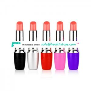 Trendy Personal Sex Massage Toy Mini Lipstick Vibrator