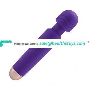 UK Crazy Hotselling Body Massage Vibrator Rechargeable Mini Wand Massager Vibrator Adult Toys