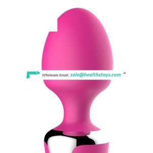 Waterproof Powerful 10speeds two motors silicone vibrator massager sex toy pictures