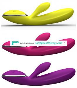 Waterproof vibrator rabbit clitoris vibrating pussy g spot massager sextoys for women | pink purple yellow