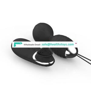 Wholesale 2019 Latest Medical Silicone Stimulate Sucking Clitoris Small Jump Eggs Vibrators Sex Toys