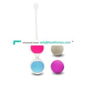 Wholesale Gift Box Medical Silicone Smart Ball Vaginal Dumbbells Female Adult Japanese Sex Toys