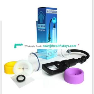 Wholesale Penis pump for erectile dysfunction vacuum penis enlargement device