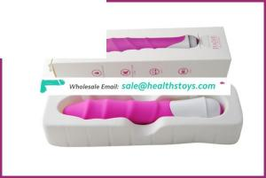 Wholesale full medical grade silicone sex toy vibrator battery powered artificial for females