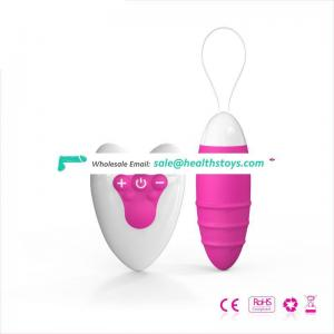 Wireless adult toy remote control bullet vibrator love eggs sex toys for women