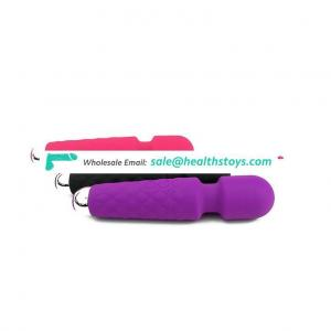 Wireless silicone G Spot av massager sex toy women vibrator