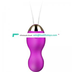 Women Vagina Bullet Vibrator Wireless Remote Control Jump Eggs Strong Vibration Kegel Balls