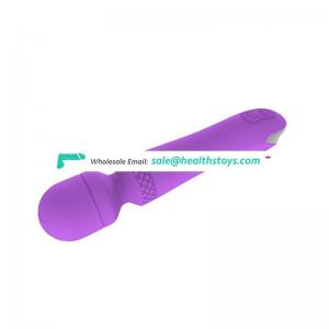 Worldwide Hot Selling App control rechargeable pussy vibrator wand massager for sex toy controlled by mobie phone
