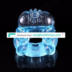 ejaculation cock silicone vibrating cock ring penis ring for men