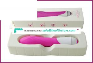 female sex battery vibrator in a beautiful gift box with a smooth feel and texture